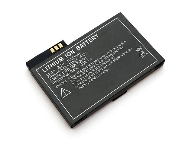Lithium ion battery stock photo