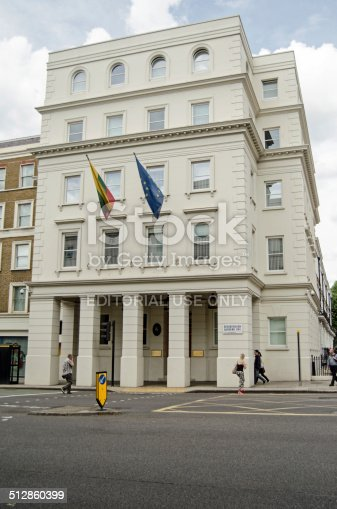 istock Lithuania Embassy, London 512860399