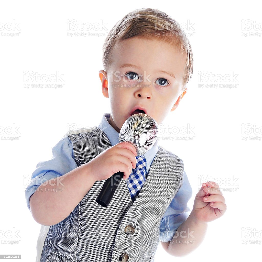 Litte Mike Singer Stock Photo Download Image Now Istock