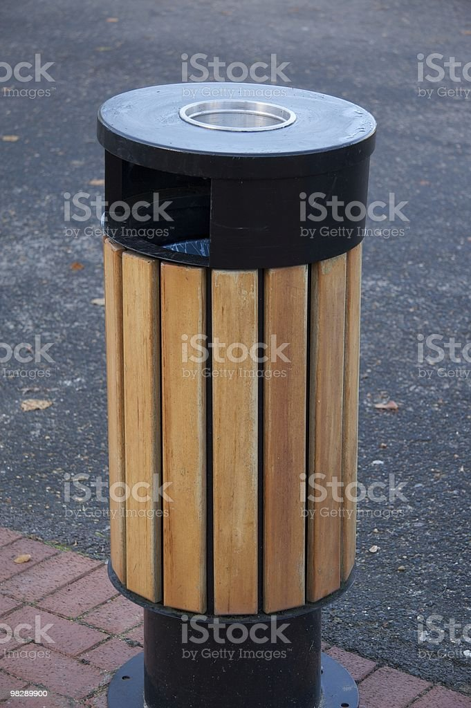 Litter bin royalty-free stock photo