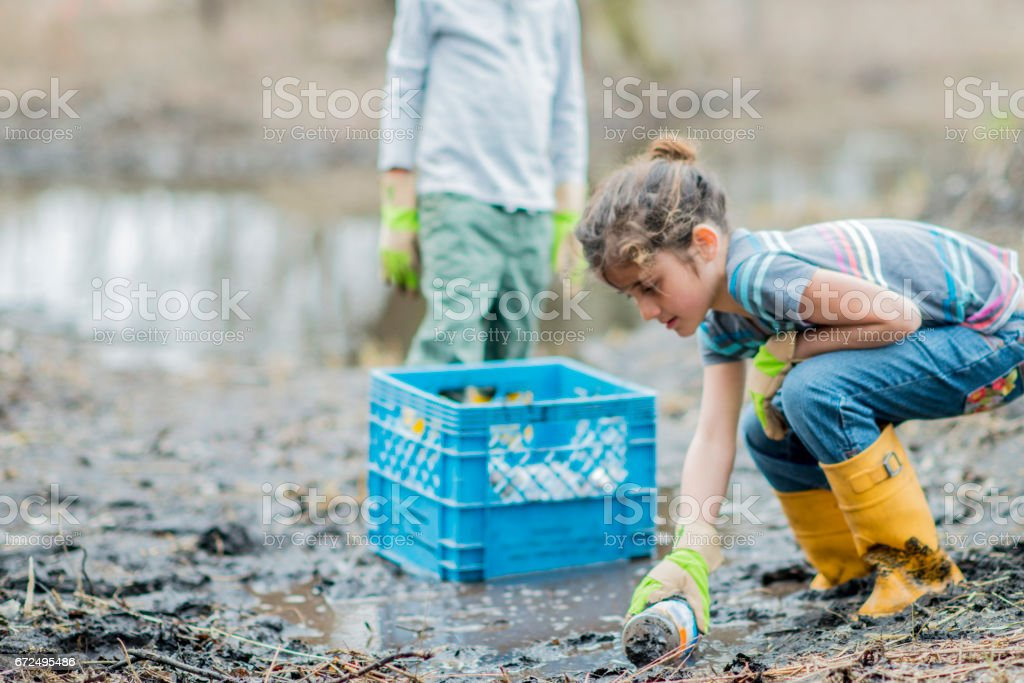 Litter stock photo
