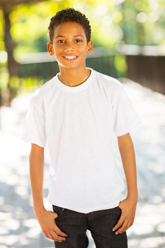 little african boy outdoors