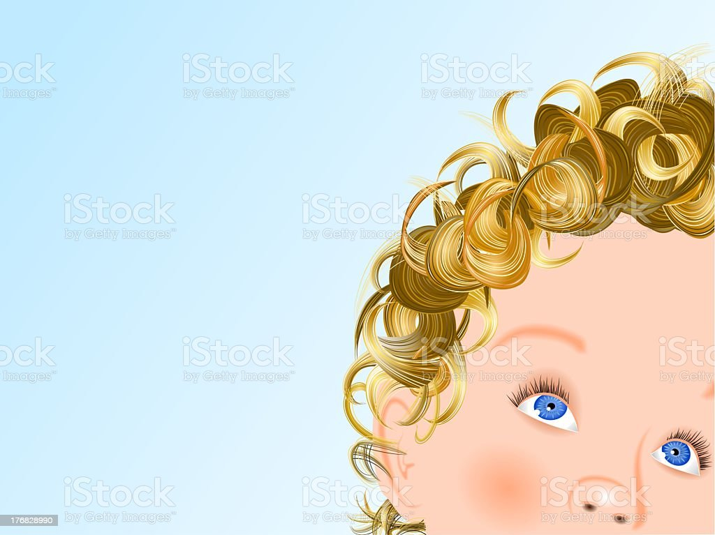 Little angel royalty-free stock photo