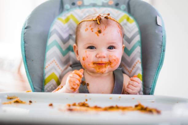 Little baby eating her dinner and making a mess picture id852749458?b=1&k=6&m=852749458&s=612x612&w=0&h=hlpwbdam0aqcvojrysqfgom10s 09ztcnycc xbsifo=