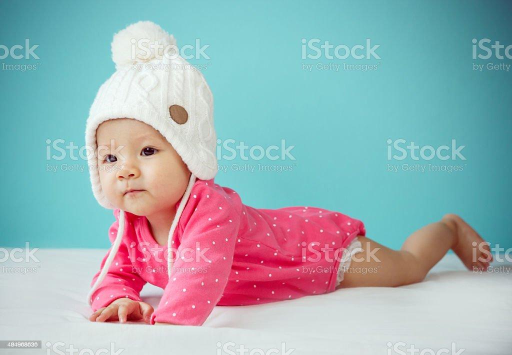 promo code 88d47 20826 Kleines Baby Im Winter Kleidung Stockfoto und mehr Bilder ...