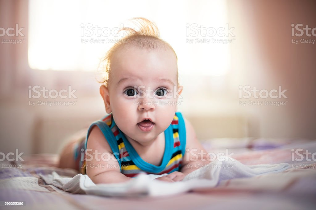 Little baby, lot's of love royalty-free stock photo