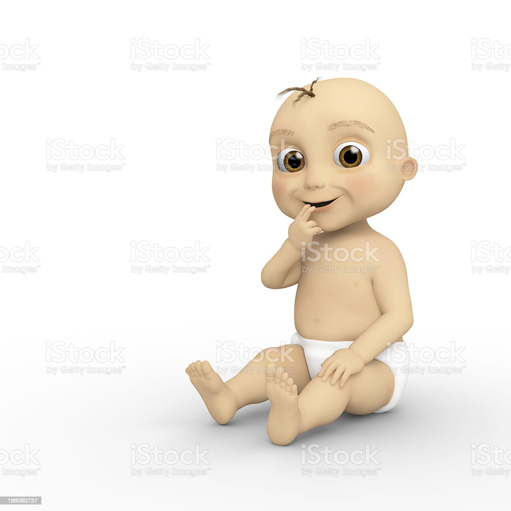 Little Baby royalty-free stock photo