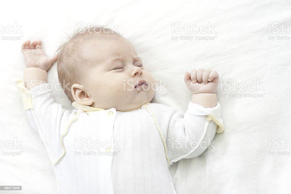 Piccolo baby foto stock royalty-free