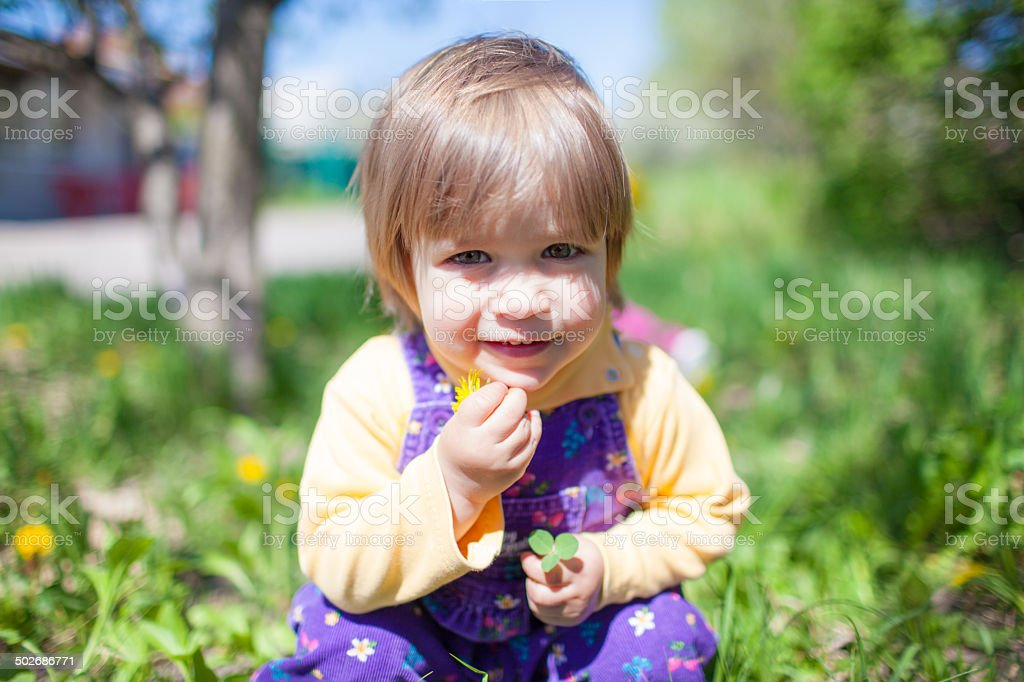 Little baby portrait royalty-free stock photo