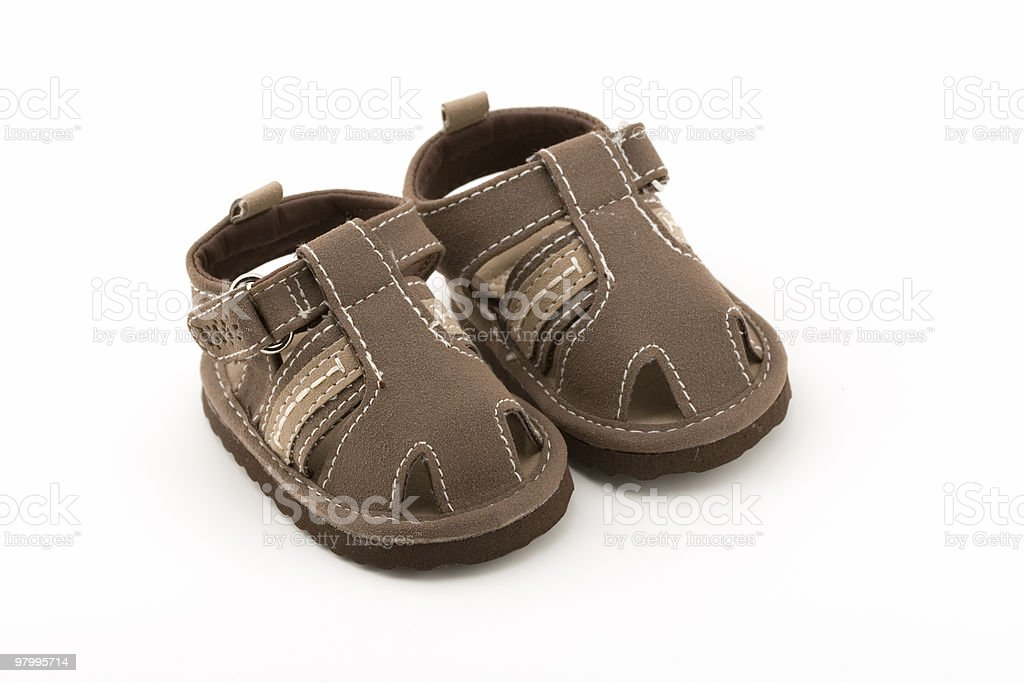 Little Baby Sandals royalty-free stock photo