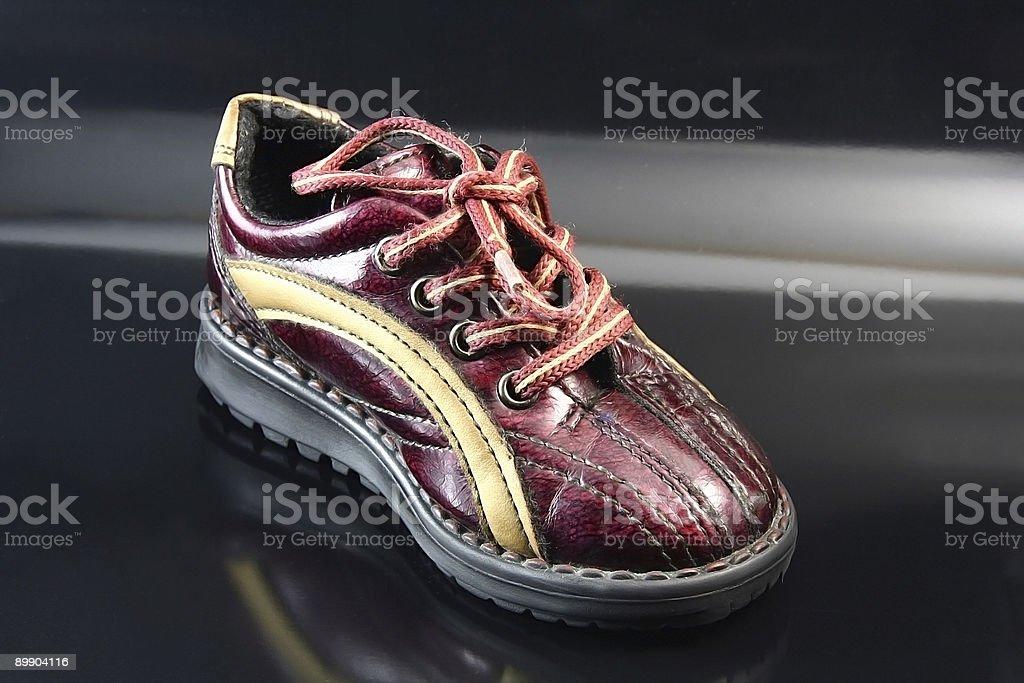 Kleines baby-Schuh Lizenzfreies stock-foto