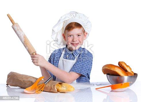 istock Little baker 480314296