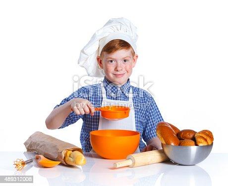 istock Little baker 489312008
