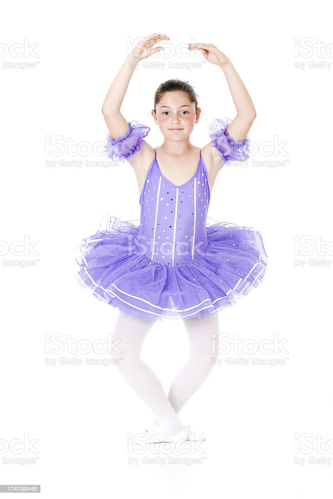 Little Ballerina royalty-free stock photo