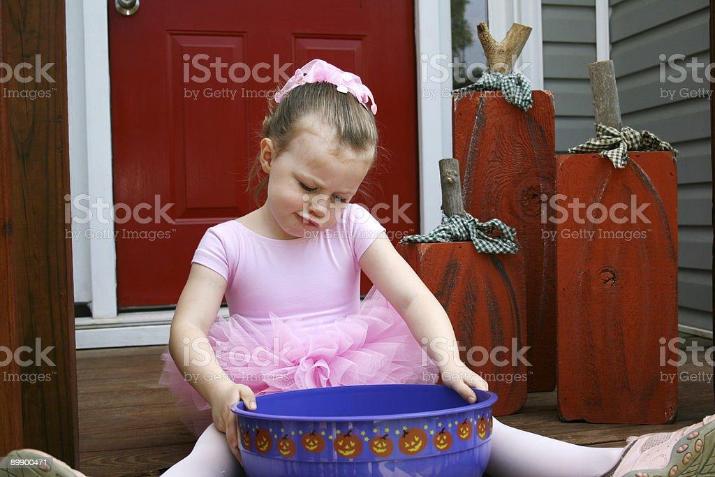 Little Ballerina royalty-free stock photo