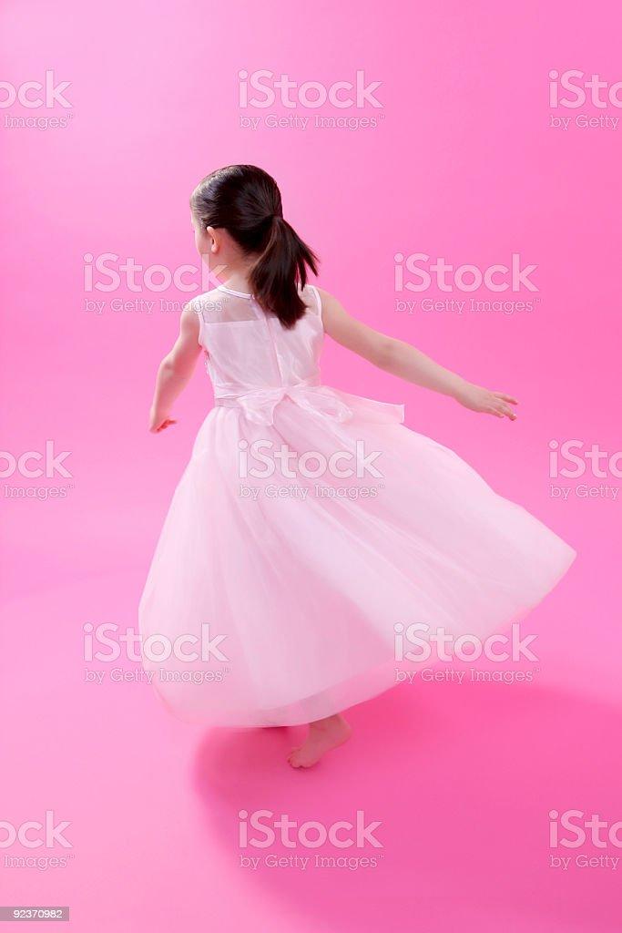 Little ballet dancer royalty-free stock photo