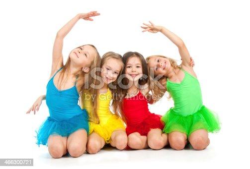 466300721 istock photo Little ballet dancers 466300721