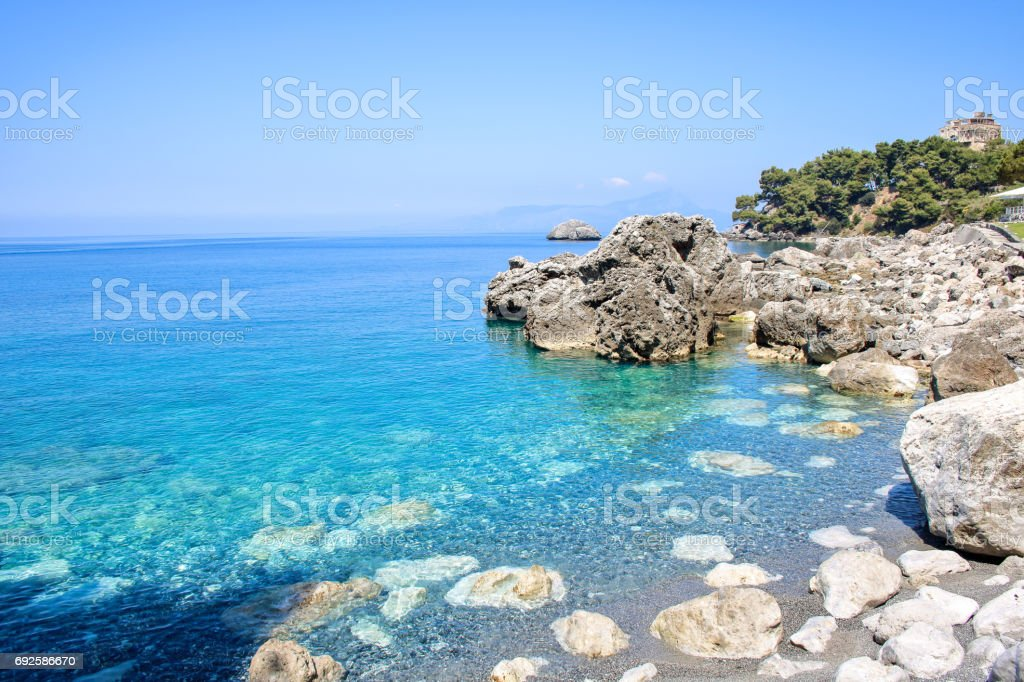 Little bay of Maratea's coast - foto stock