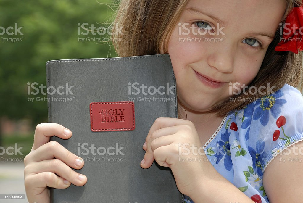 Little Believer royalty-free stock photo