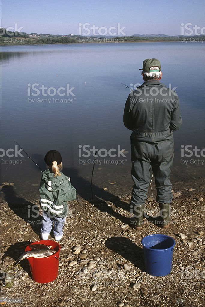 little big fisher stock photo
