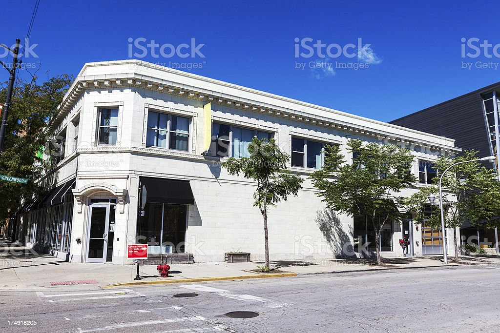 Little Black Pearl Art and Design Center, Chicago royalty-free stock photo
