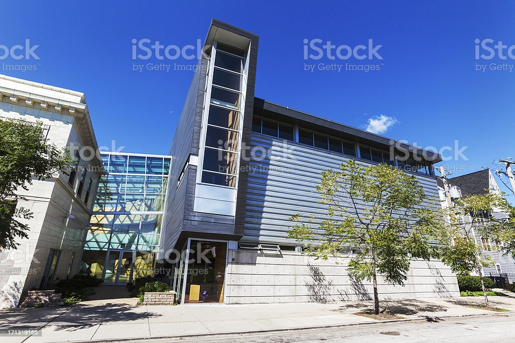 Little Black Pearl Art and Design Center, Kenwood, Chicago royalty-free stock photo