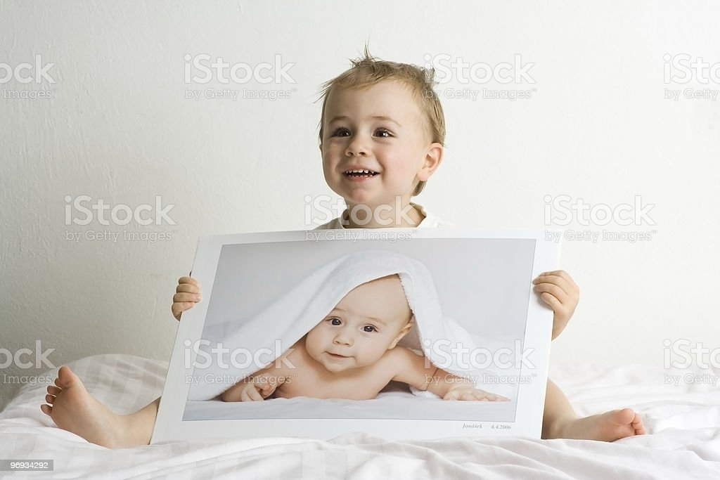 Little blond boys royalty-free stock photo