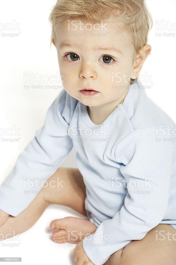 little boy de 1 año de edad - foto de stock