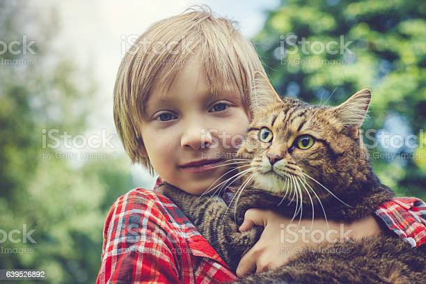 Little boy and his cat picture id639526892?b=1&k=6&m=639526892&s=612x612&h=usq2 w advi cpsrll786op0cmfa7a2 ef5duspev68=