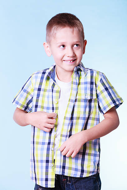 Child Dirty T Shirt Little Boys Stock Photos, Pictures