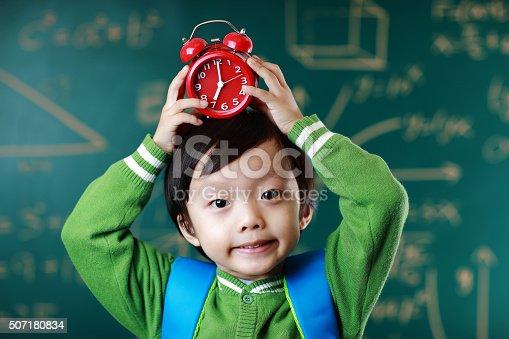 istock Little boy going to school 507180834
