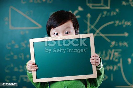 istock Little boy going to school 517310962