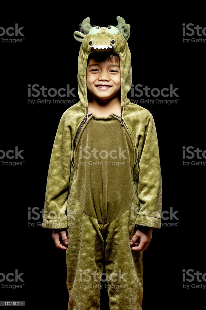 Little Boy in Costume royalty-free stock photo