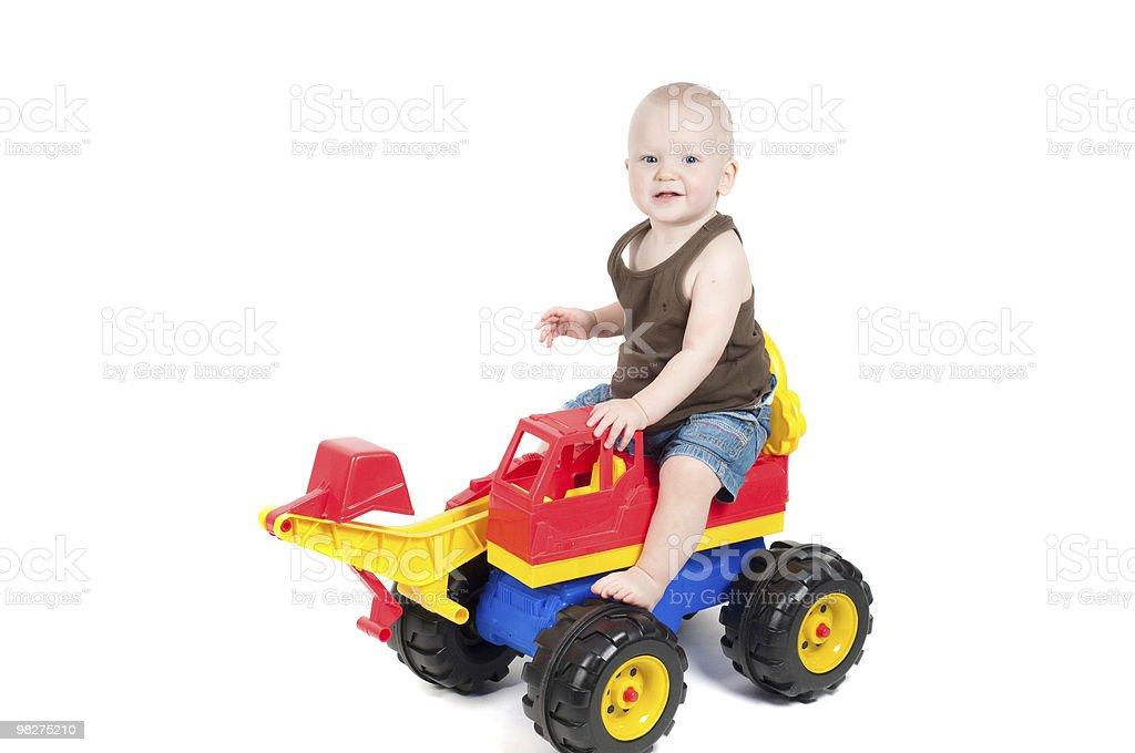 Little boy in studio royalty-free stock photo