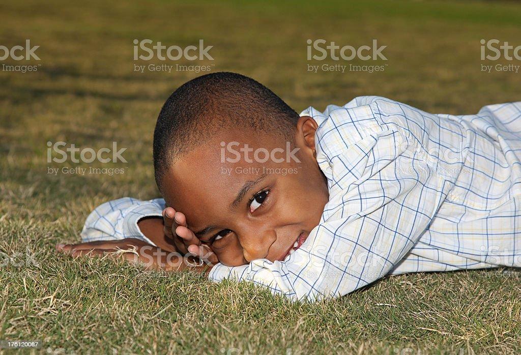 Little Boy royalty-free stock photo