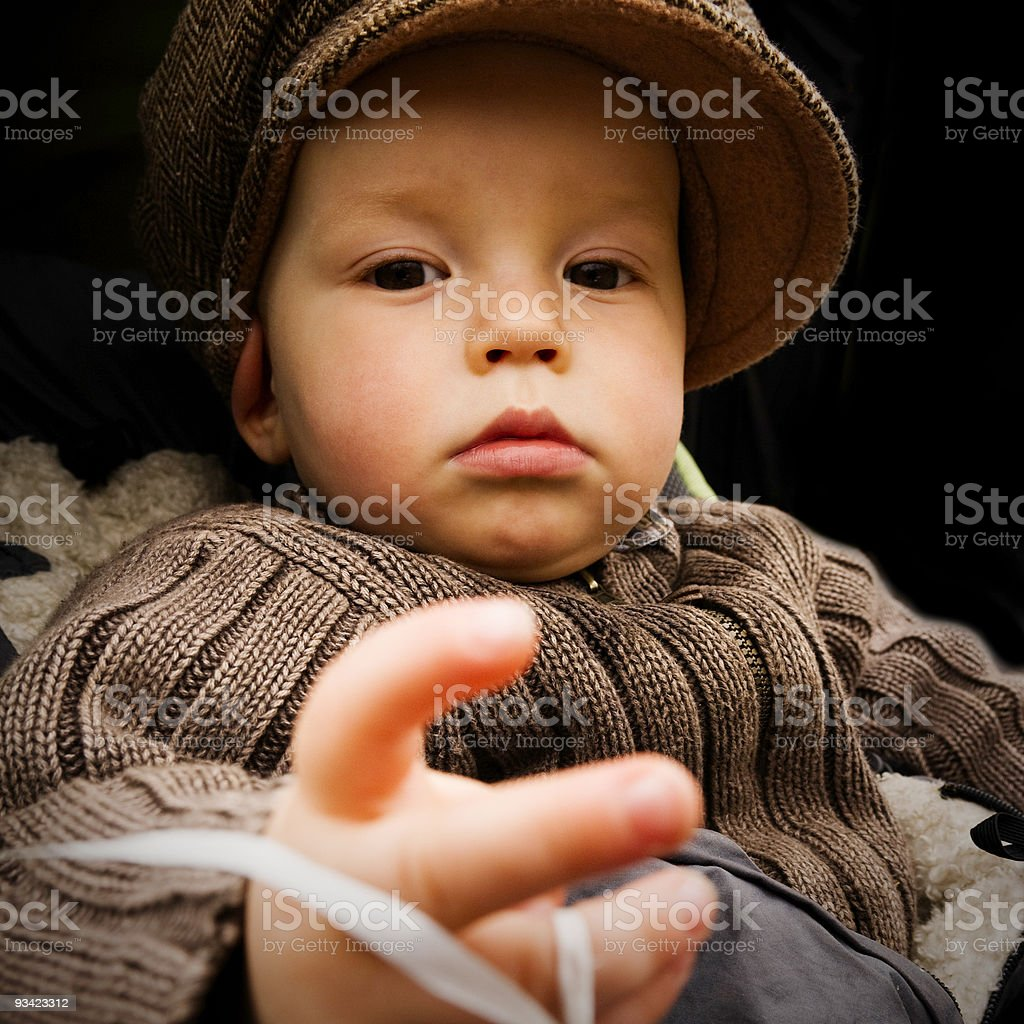 Little Boy Portrait royalty-free stock photo