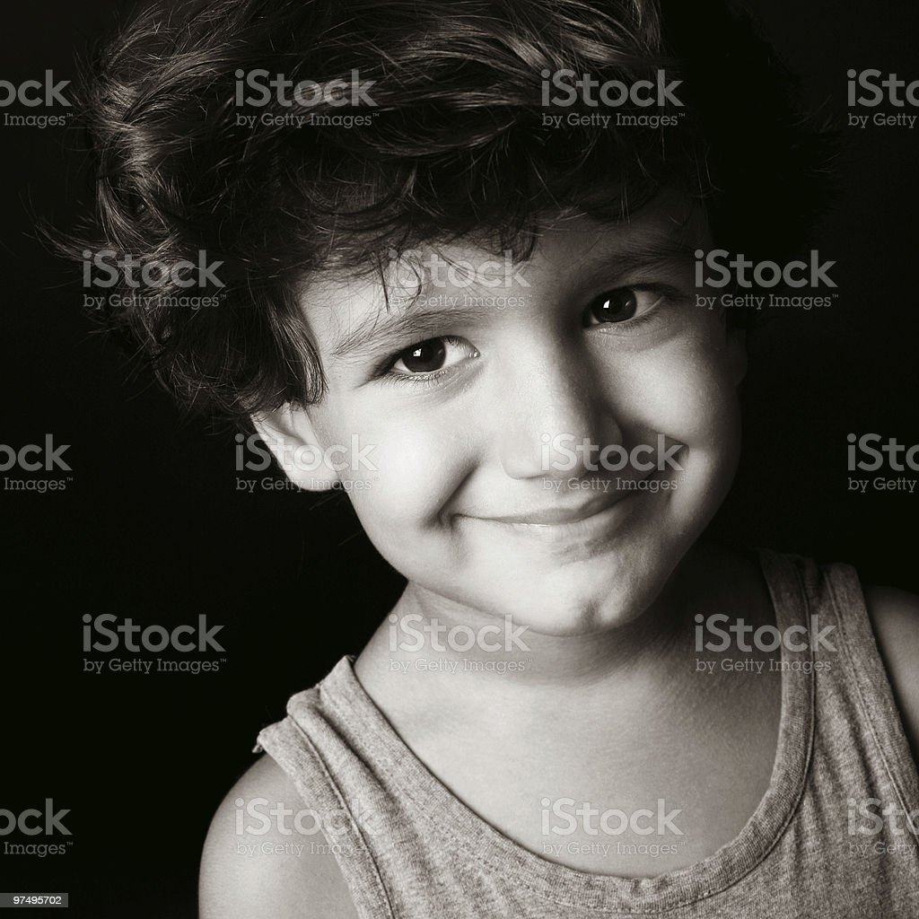 Little boy portrait royalty-free stock photo