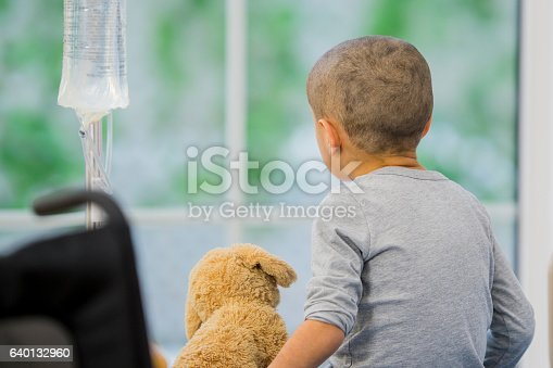 istock Little Boy with Cancer 640132960