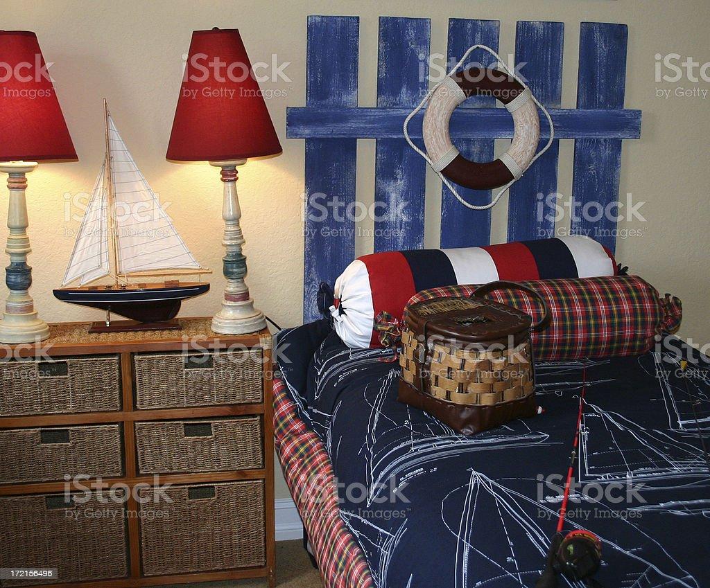 Little Boy's Bedroom royalty-free stock photo