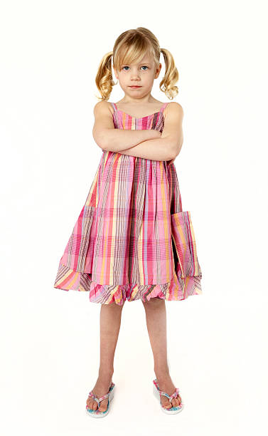 little brat - pigtails stock photos and pictures