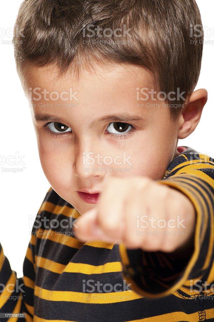 Little bully mit black eye attack – Foto