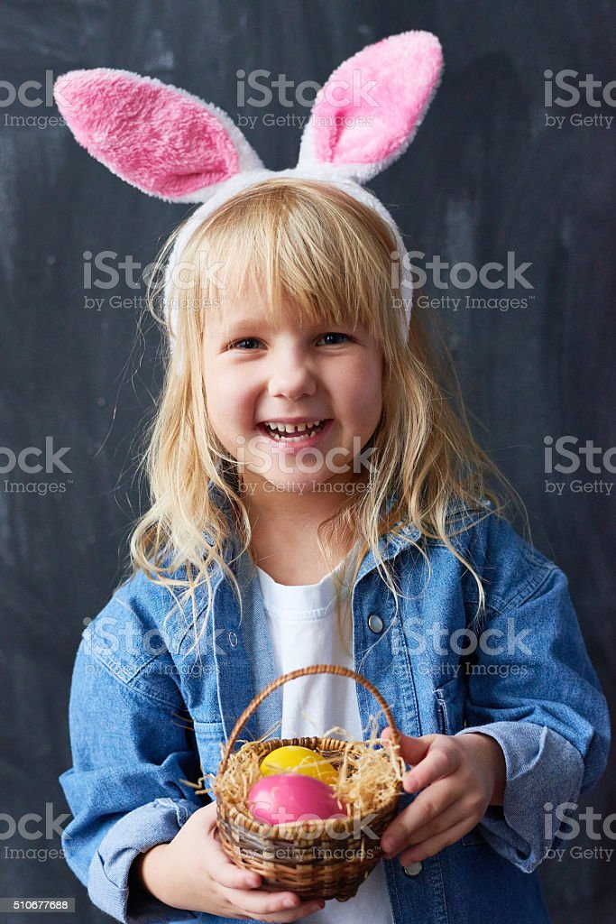 Little bunny stock photo