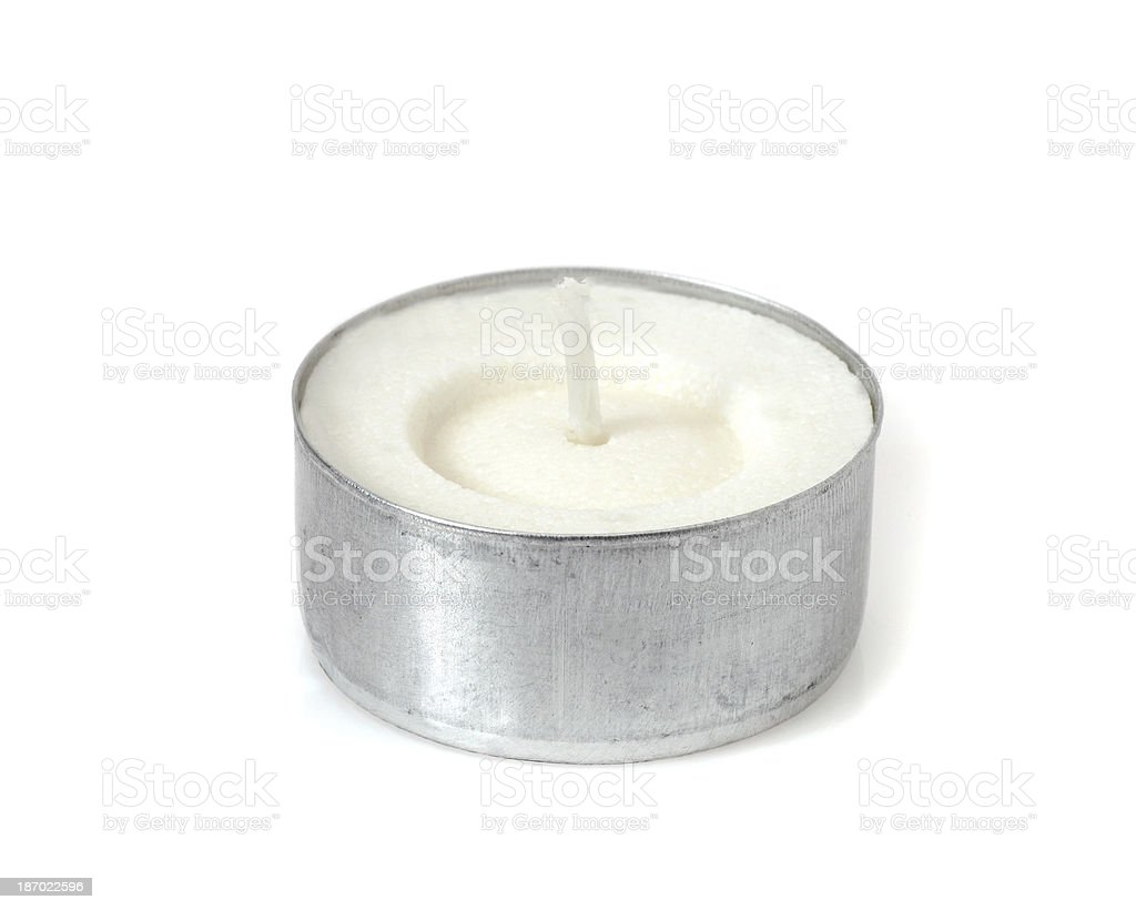 little candle stock photo