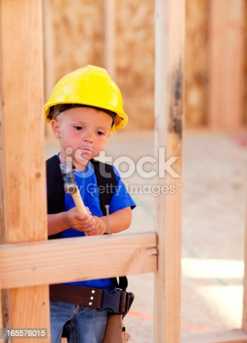 istock Little Carpenter 165576015