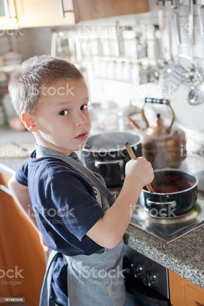 Little Chef royalty-free stock photo