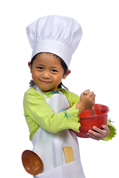 Little Chefs 004 stock photo