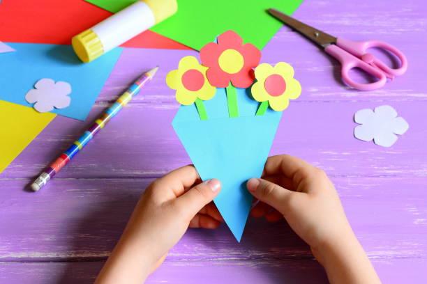93+ Kindergarten Construction Paper Crafts - Paper Frog Craft For