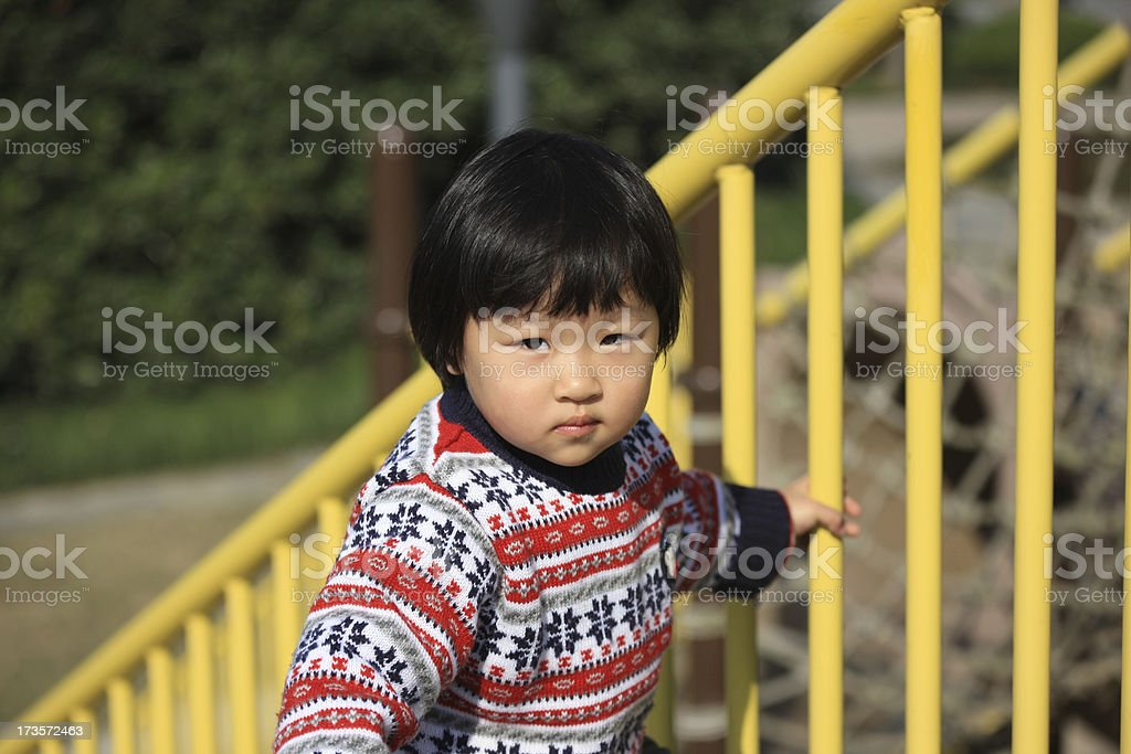 Little Chinese Girl royalty-free stock photo