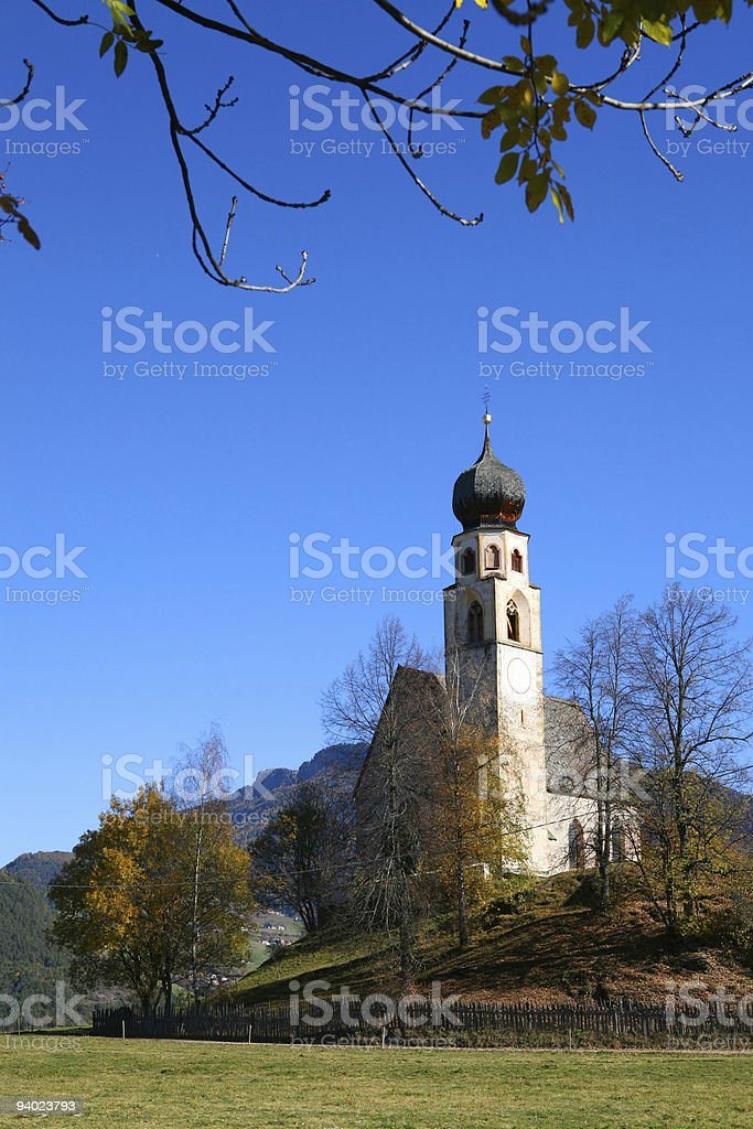 little church in Italy royalty-free stock photo