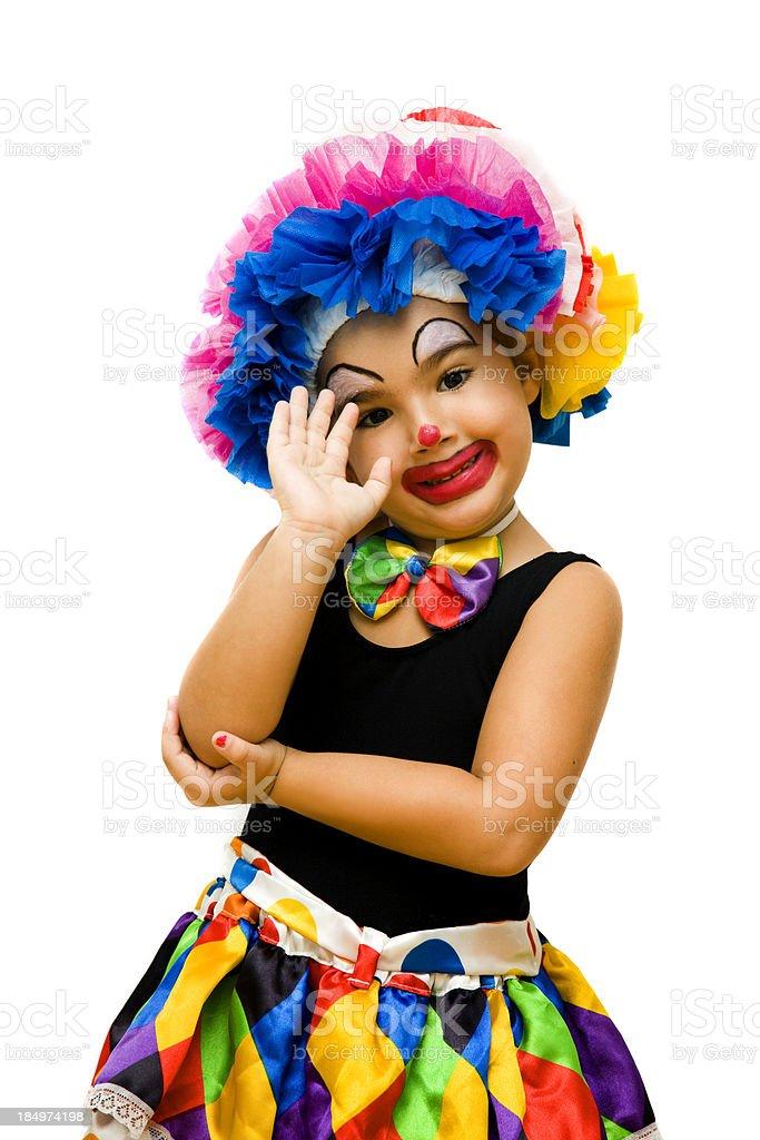 Little clown royalty-free stock photo